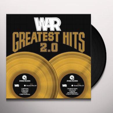 War GREATEST HITS 2.0 Vinyl Record