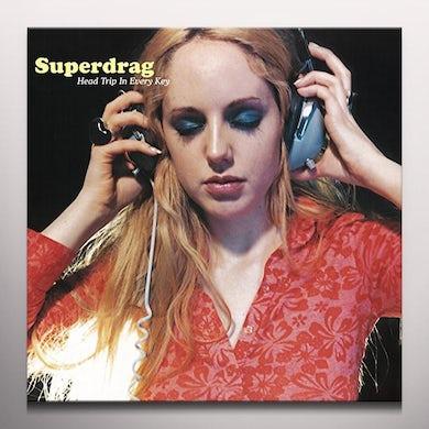 Superdrag HEAD TRIP IN EVERY KEY Vinyl Record - Clear Vinyl