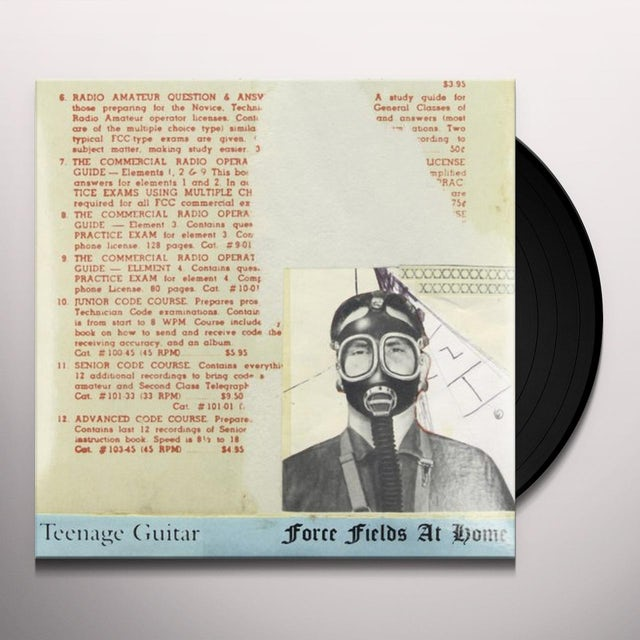 Teenage Guitar FORCE FIELDS AT HOME Vinyl Record