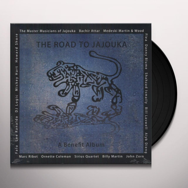 Master Musicians Of Jajouka ROAD TO JAJOUKA Vinyl Record