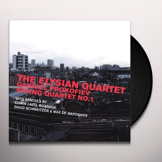 Prokofiev / Elysian Quartet STRING QUARTET NO. 1 Vinyl Record