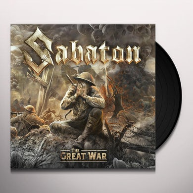 Sabaton GREAT WAR: HISTORY EDITION Vinyl Record