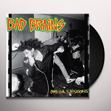 Bad Brains OMEGA SESSIONS Vinyl Record