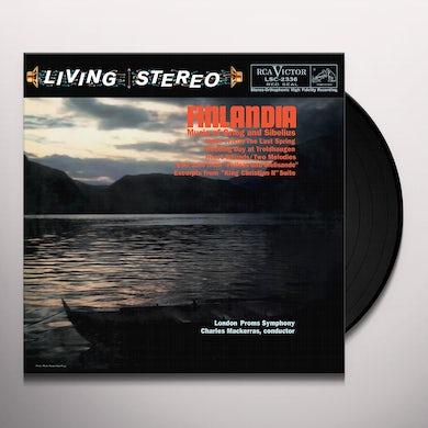 Grieg & Schumann / Mackerras / London Symphony Orc FINLANDIA Vinyl Record