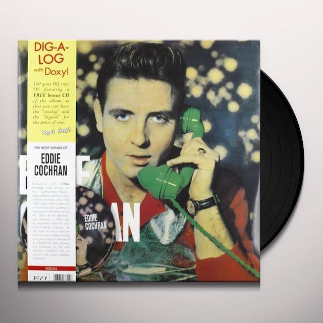 Eddie Cochran Vinyl Record - Italy Release