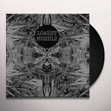 Merzbow LOWEST MUSIC 2 Vinyl Record