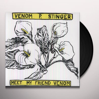 Venom P. Stinger MEET MY FRIEND VENOM Vinyl Record