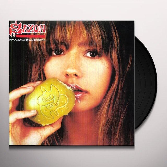 Saxon INNOCENCE IS NO EXCUSE Vinyl Record