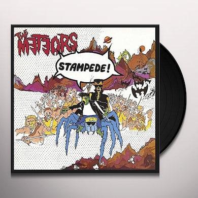 The Meteors STAMPEDE Vinyl Record