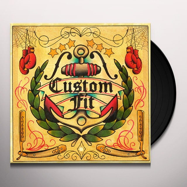 Custom Fit Vinyl Record