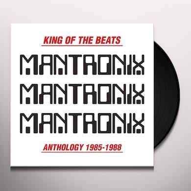 Mantronix KING OF THE BEATS Vinyl Record