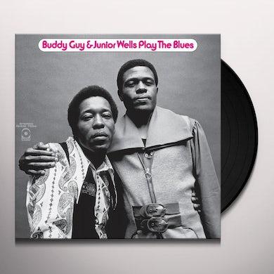 Buddy Guy & Junior Wells PLAY THE BLUES Vinyl Record