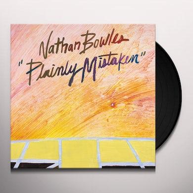 Nathan Bowles PLAINLY MISTAKEN Vinyl Record