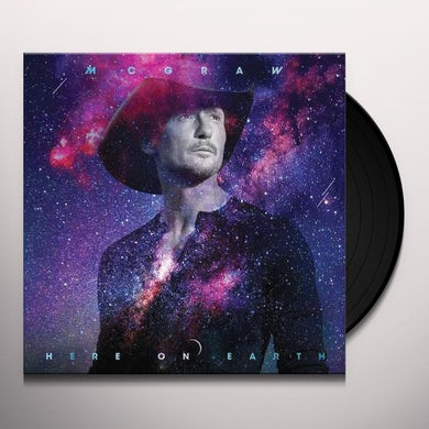 Tim McGraw Here On Earth (2 LP) Vinyl Record