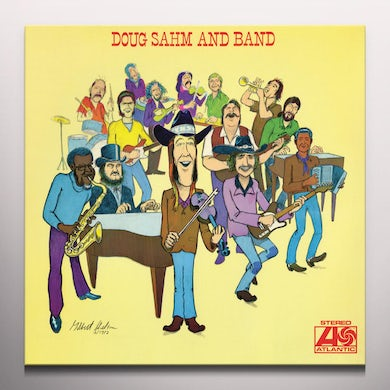 DOUG SAHM & BAND Vinyl Record - Colored Vinyl, Limited Edition