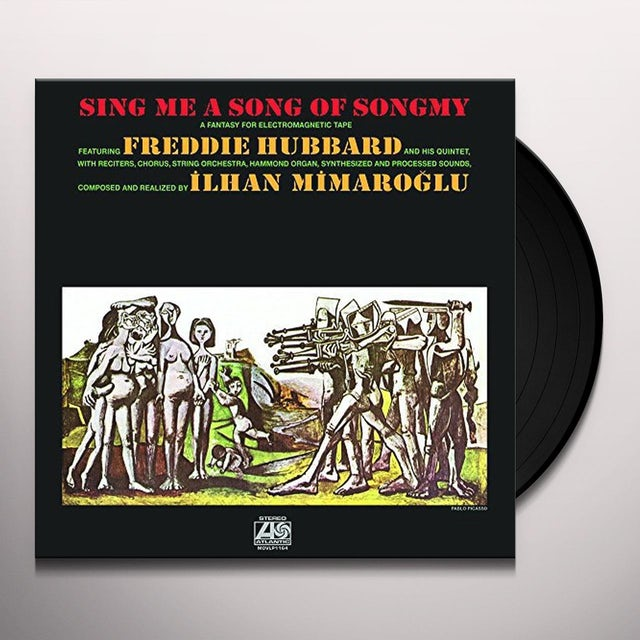 Freddie Hubbard SING ME A SONG OF SONG Vinyl Record