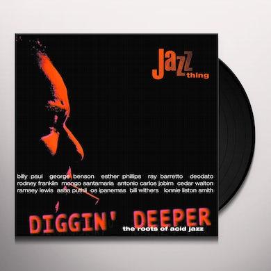 DIGGIN' DEEPER 1 / VARIOUS Vinyl Record