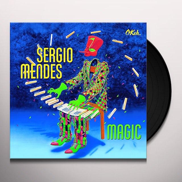 Sergio Mendes MAGIC Vinyl Record