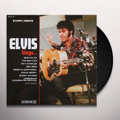 Elvis Presley SINGS Vinyl Record