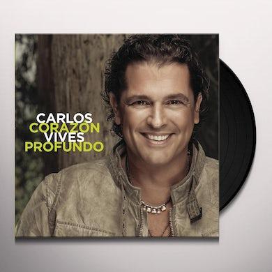 Carlos Vives CORAZON PROFUNDO Vinyl Record