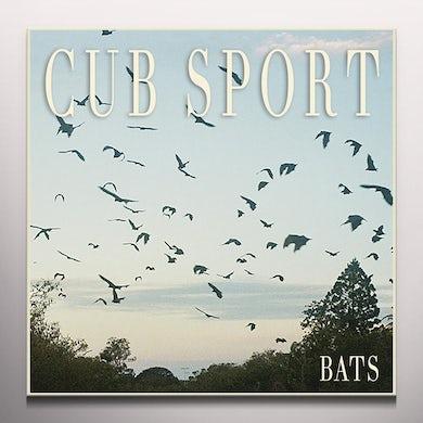 Cub Sport BATS - Limited Edition Clear w/ Black Splatter Colored Vinyl Record