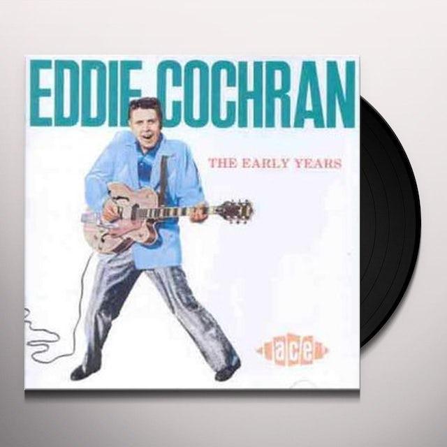 Eddie Cochran EARLY YEARS Vinyl Record - UK Release