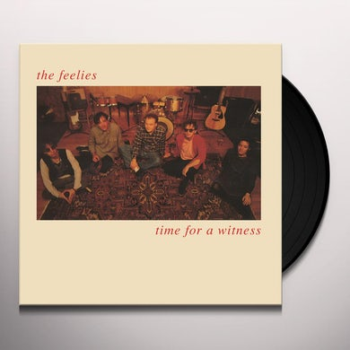 The Feelies TIME FOR A WITNESS Vinyl Record