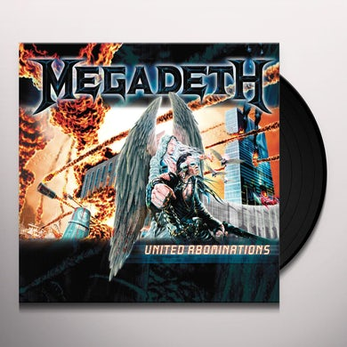 Megadeth United Abominations Vinyl Record