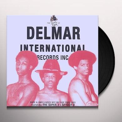 Super 3 / Community People / Spyder-D OL' SKOOL FLAVA OF DELMAR INTERNATIONAL Vinyl Record