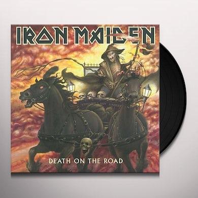Iron Maiden DEATH ON THE ROAD Vinyl Record