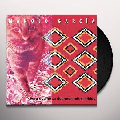 PARA QUE NO SE DUERMAN MIS SENTIDOS TARJETA DE Vinyl Record