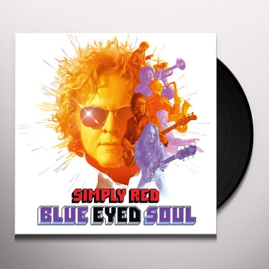 Simply Red BLUE EYED SOUL Vinyl Record
