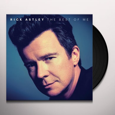 Rick Astley BEST OF ME Vinyl Record