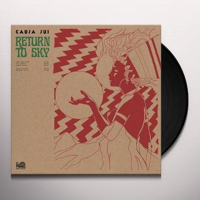 Causa Sui RETURN TO SKY Vinyl Record