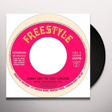 Randa & The Soul Kingdom MORE THAN ENOUGH LOVE Vinyl Record