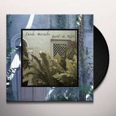Sarah Davachi GAVE IN REST Vinyl Record
