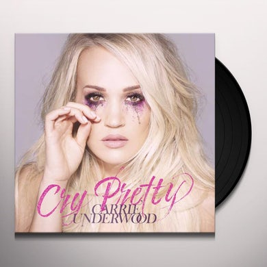 Carrie Underwood Cry Pretty (LP)(Pink) Vinyl Record