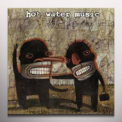 Hot Water Music FUEL FOR THE HATE GAME Vinyl Record