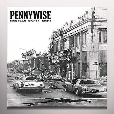 Pennywise NINETEEN EIGHTY EIGHT (GREEN) Vinyl Record - Colored Vinyl, Green Vinyl, UK Release