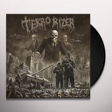 Terrorizer CAUSTIC ATTACK Vinyl Record