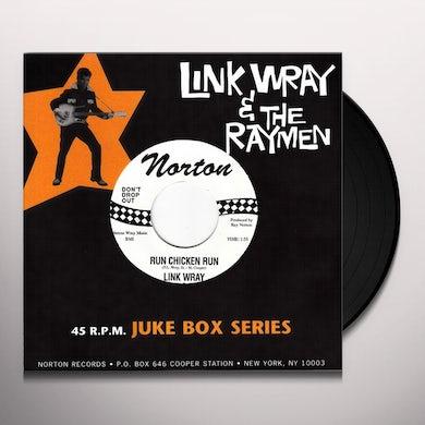Link Wray RUN CHICKEN RUN Vinyl Record