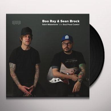 Boo Ray SAINT MISBEHAVIN' / SOUL FOOD COOKIN' Vinyl Record