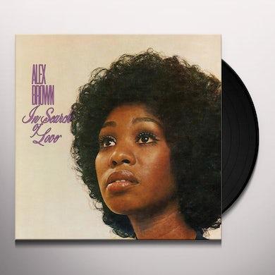 Alex Brown IN SEARCH OF LOVE Vinyl Record
