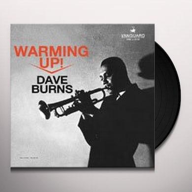 Dave Burns WARMING UP Vinyl Record