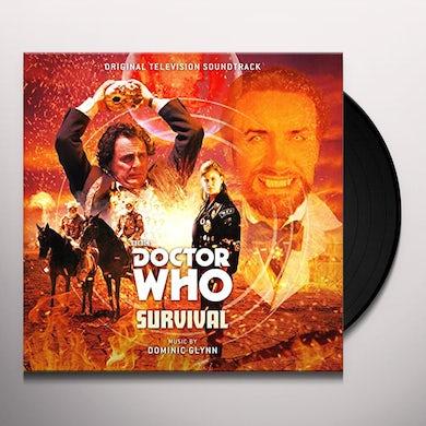 Dominic Glynn DOCTOR WHO: SURVIVAL / Original Soundtrack Vinyl Record