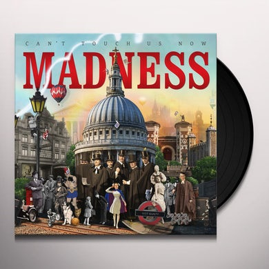 Madness CAN'T STOP US NOW Vinyl Record - UK Release
