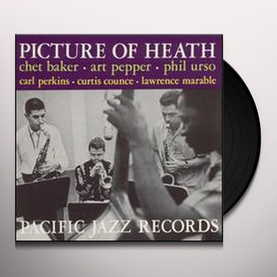 Chet Baker|Art Pepper PICTURE OF HEATH Vinyl Record