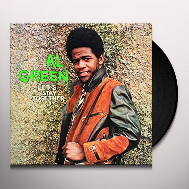 Al Green LET'S STAY TOGETHER Vinyl Record