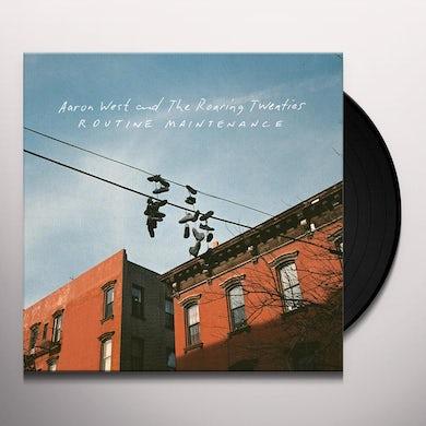Aaron West & The Roaring Twenties ROUTINE MAINTENANCE Vinyl Record