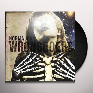 Norma Jean WRONGDOERS Vinyl Record - Canada Release